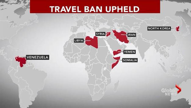 SUPREME COURT UPHOLDS TRAVEL BAN, HANDING TRUMP MAJOR VICTORY